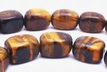 Golden Tiger Eye Nugget Beads