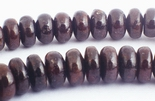 95 Timeless Polished Garnet Heishi Beads