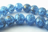 Large Shiny Sparkling Baby Blue Crystal Beads 8mm or 10mm